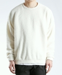 쟈니웨스트() Fleece Crewneck