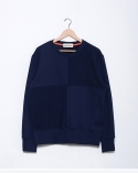 QUATER SWEAT-SHIRTS(NAVY)