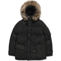 모디파이드(MODIFIED) M#0860 winter hooded fur parka (black)