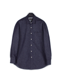 피스워커() Street Denim shirts - Indigo