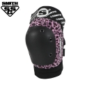 [SMITH] SCABS ELITE LEOPARD KNEE PADS (Pink/Black)
