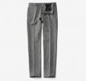 MOYEN(moyen) APPAREIL HOUND TOOTH WOOL SLACKS - GREY