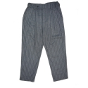 어루만질 무(MU) Stripe two tuck pants [stripe gray]