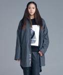 다이르 렌 모드(DAIR LEN MODE) Overfit long shirt outer