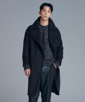 다이르 렌 모드(DAIR LEN MODE) Overfit wide collar long coat