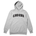 크룩스앤캐슬(CROOKS & CASTLES) Knit Zip Hood -Bombsquad (Heather Grey)