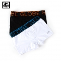 글로브(GLOBE) [GLOBE] LINDROS 2 PACK JERSEY BRIEF (BLACK/WHITE)
