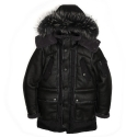 센트머리(CENTMARY) MOUSTANG PADDING PARKA_BLACK
