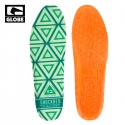 글로브(GLOBE) [GLOBE] SHOCKBED INSOLE (ORANGE)