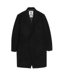 울프 Dane wool Single Coat (black)