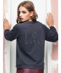 101오탈리에(101OTALLIER) 101GIRLS TERRY SWEATSHIRT _ GREY/GREY
