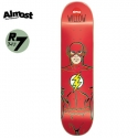 올모스트(ALMOST) [Almost] WILLOW THE FLASH X DC COMICS R7 DECK 7.75