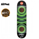 올모스트(ALMOST) [ALMOST] COOPER WILT/GREEN GLOW IN THE DARK IMPACT DECK 31.7 x 8.25