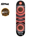올모스트(ALMOST) [ALMOST] DAEWON SONG/ORANGE GLOW IN THE DARK IMPACT DECK 31.7 x 8.0