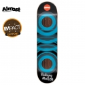 올모스트(ALMOST) [ALMOST] RODNEY MULLEN/BLUE GLOW IN THE DARK IMPACT DECK 31.2 x 7.75