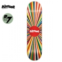 올모스트(ALMOST) [ALMOST] COLOR WHEEL NATURAL R7 DECK 31.1 x 7.5