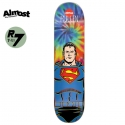 올모스트(ALMOST) [ALMOST] RODNEY MULLEN SUPERMAN TIEDYE X DC COMICS R7 DECK 31.7 x 8.0