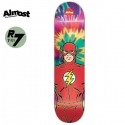 올모스트(ALMOST) [ALMOST] WILLOW THE FLASH TIEDYE X DC COMICS R7 DECK 31.8 x 8.38