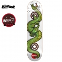 올모스트(ALMOST) [ALMOST] WILOW SNAKE DOUBLE IMPACT PREMIUM DECK 31.6 x 8.0