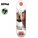 올모스트(ALMOST) [ALMOST] CHRIS HASLAM SHRUNK THE TEAM R7 DECK 31.7 x 8.0