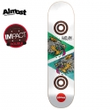 올모스트(ALMOST) [ALMOST] CHRIS HASLAM DOUBLE TROUBLE DI DECK 32.1 x 8.5