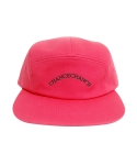 챈스챈스(CHANCECHANCE) LOGO CAMP CAP PINK