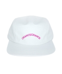 챈스챈스(CHANCECHANCE) LOGO CAMP CAP WHITE