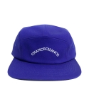 챈스챈스(CHANCECHANCE) LOGO CAMP CAP BLUE