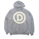 Dissizit! Registered D Zip Up Hoodie