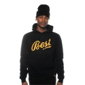 BREEZY EXCURSION Foul Play Hoodie (Black)