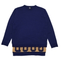 로맨틱크라운(romanticcrown) [ROMANTICCROWN]GOOD LONG KNIT_NAVY