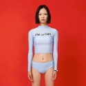 딤에크레스(DIM. E CRES) RASH GUARD SWIMWEAR SET(SKY)