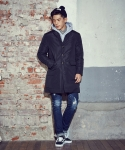 [XTONZ] VALLIER DOWN COAT (Black)