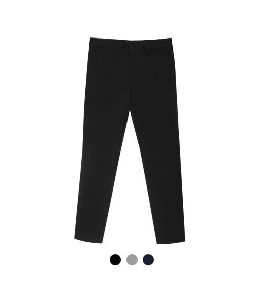 울프_Basic Banding Slacks (3color)