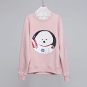 비욘드클로젯(beyondcloset) [JAPAN EDITION]NEW APOLLO DOG PATCH SWEAT SHIRT WINTER VER