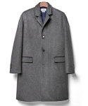 로얄위(theroyalwe) WOOL OVER COAT CHARCOAL