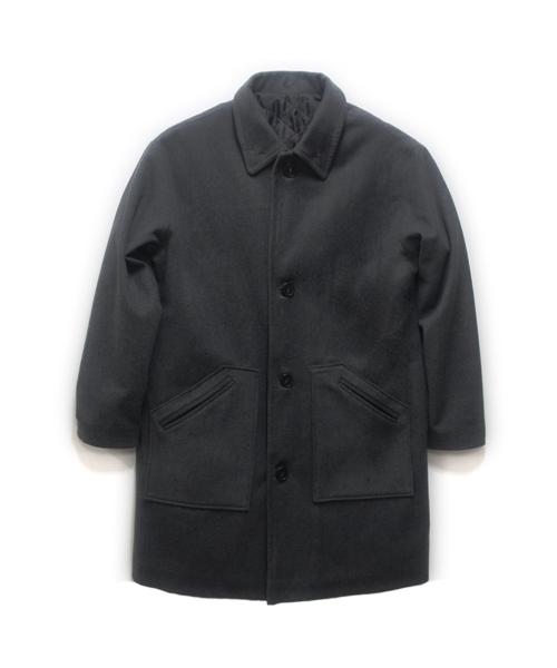 덕다이브_[DUCKDIVE] OVER SINGLE COAT BLACK