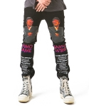 아임낫어휴먼비잉(I AM NOT A HUMAN BEING) The World is Yours Pants - Black