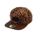 [신상할인]Animal pattern DA Faux Leather patch cap