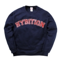 하이비션(HYBITION) Hybition Arc Logo Crewneck Navy