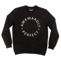 에이치이(HE) AP Logo Crewneck Sweat Black