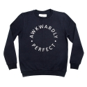 에이치이(HE) AP Logo Crewneck Sweat Navy