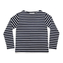 에이치이(HE) Stripe L/S Navy
