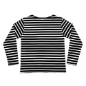 에이치이(HE) Stripe L/S Black