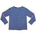 에이치이(HE) Stripe L/S Blue