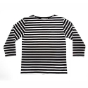에이치이(HE) Stripe 3/4 Black