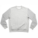 에이치이(HE) Pyramid Logo Crewneck Sweat Gray