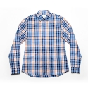 에이치이(HE) Tartan Shirts Orange