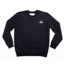 에이치이(HE) SlowMotion Crewneck Sweat Navy