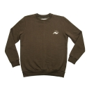 에이치이(HE) SlowMotion Crewneck Sweat Khaki